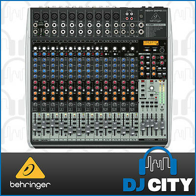 Behringer Xenyx QX2442USB 24 Input PA Mixer with USB and Digital FX - 3 YEAR ...
