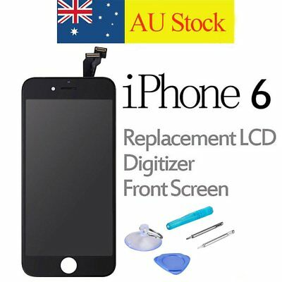 For iPhone 6 LCD Touch Screen Replacement Digitizer Display Assembly Black+Tools
