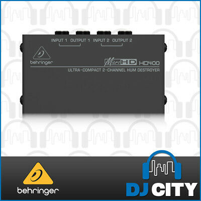 Behringer HD400 AC Hum Eliminator Destroyer