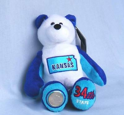 Limited Treasures State Coin Bear  Kansas  #34