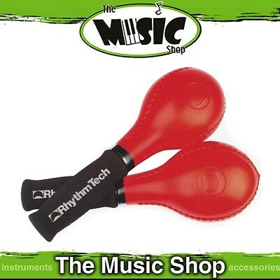 New Pair of Rhythm Tech Gemini Pro Maracas with Cushioned Grip - ERT230