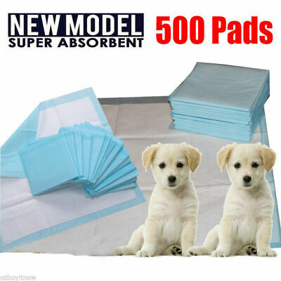 500pcs Puppy Pet Dog Indoor Cat Toilet Training Pads Super Absorbent