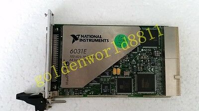 NI Data acquisition card PXI-6031E good in condition for industry use