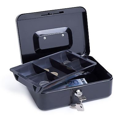 "Rapesco Cash Box 6"" (15cm) (black)"