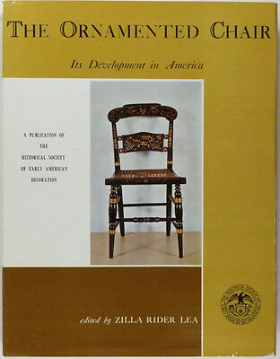 ANTIQUE AMERICAN COLONIAL & VICTORIAN PAINTED & DECORATED CHAIRS - 1700-1890