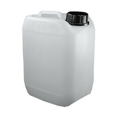 White Jerrican - 10 Litre Capacity