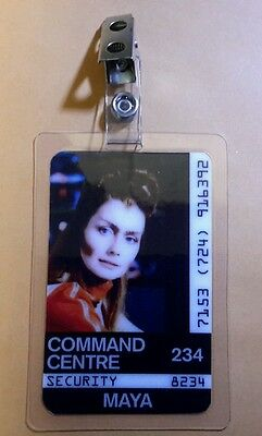 Space 1999 Id Badge -Command Centre Maya prop costume cosplay