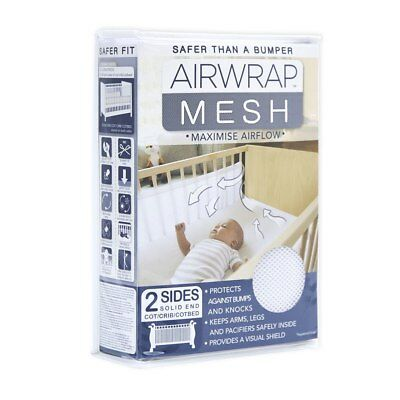 NEW The Little Linen Company - Airwrap 2 sided bumper from Baby Barn Discounts