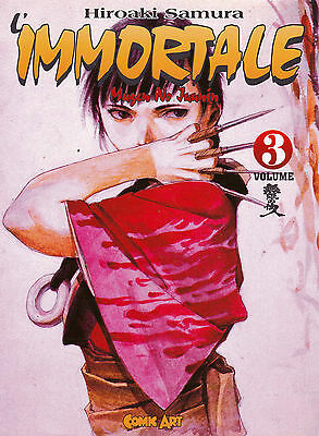 L'IMMORTALE n°  3 Edizione Comic Art