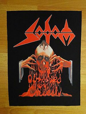 SODOM Obssessed by Cruelty BACK PATCH printed NEW thrash metal