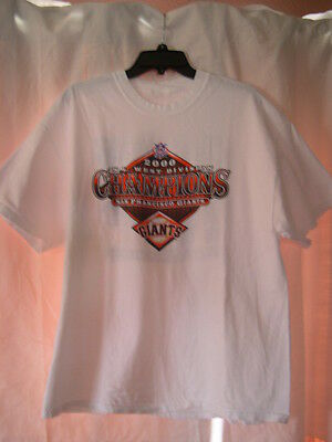 Fantastic T-Shirt San Fran Giants 2000 N.l. West Division Champions