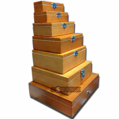 Wolf Productions Deluxe Range - Rolling Boxes - Wooden Roll Box from SMO-KING