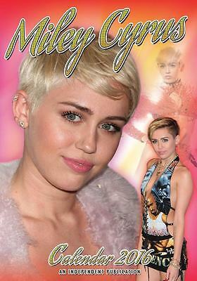 Miley Cyrus 2016 Large Wall Calendar New And Factory Sealed Sale !!