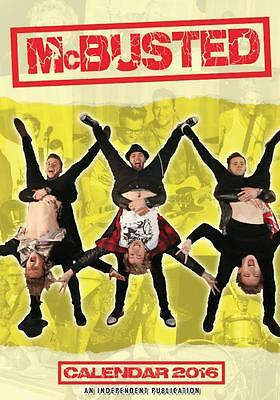 Mcbusted Mcfly Busted 2016 Large Wall Calendar New And Factory Sealed By Dream