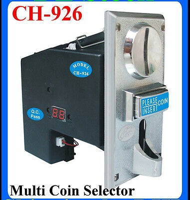 JY-926 Multi Coin Acceptor support 1-6 type of coins for Vending Machines parts