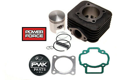 70cc Big Bore Cylinder Barrel Kit + Head for Piaggio NRG50 NRG 50 Power MC3 AC