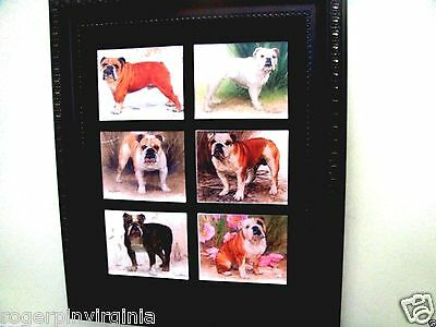 BULLDOGS - REPRODUCTION COLLECTORS CARDS (+ many other breeds available)