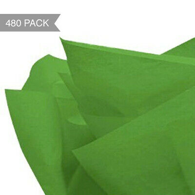 Dark Green Tissue Paper - 500 x 760mm (Bulk 480 Sheets)
