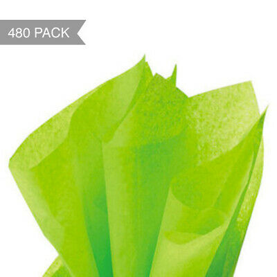 Lime Green Tissue Paper - 500 x 760mm (Bulk 480 Sheets)