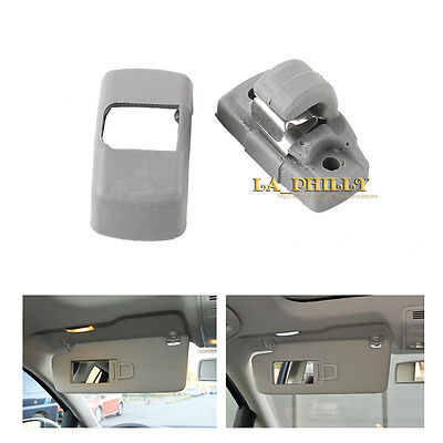 Grey Sun Visor Clip 3B0857561B For VW Golf Jetta Passat SKODA SEAT
