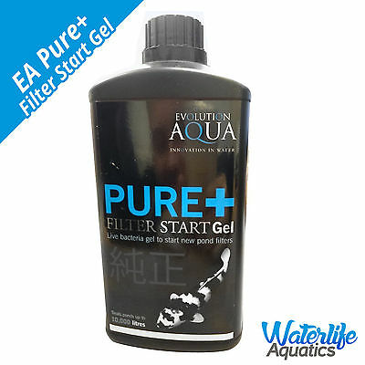 Evolution Aqua PURE+ Filter Start Gel for Ponds and Large Aquariums + FREE P&P