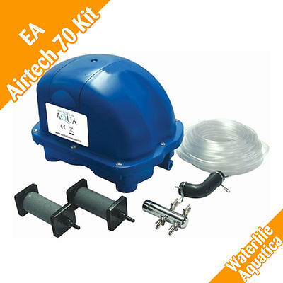 Evolution Aqua Airtech 70 Complete Kit - EA Pond Air Pump - Free P&P!
