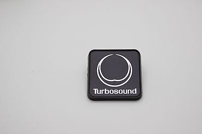 "Turbosound Plastic Logo Badge 40mm (1.6"") Square"