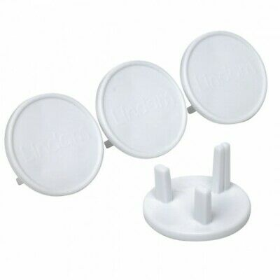 NEW - Pack of 20 White Socket Covers - Child Safety Plug Covers - Easy to Fit