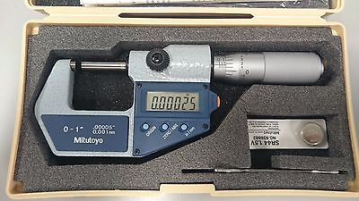 "Mitutoyo 0-1""/mm Digimatic Outside Micrometer"