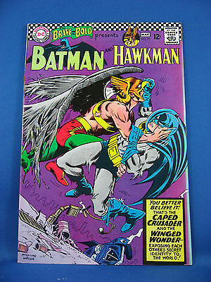 BRAVE AND THE BOLD 70 Batman Hawkman  NM 1967