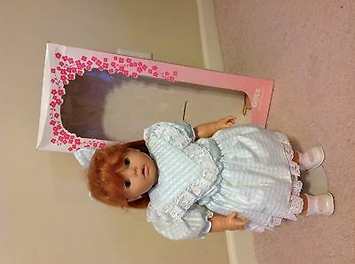 Gotz Doll, Beautifull Red Hair, Excellent Condition!!!  SIGNED!!!