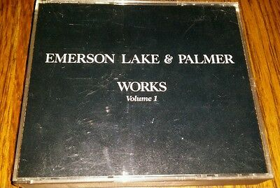 Emerson Lake & Palmer Works Volume One 1977 Palm Beach Int'l Recordings - Mint