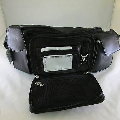 Extra Large Fanny Pack Waist Bag Belt Pouch Genuine Leather