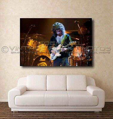 Ritchie Blackmore Deep Purple Poster Photo 20x30 in Live 70's Concert Print L41
