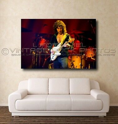 Ritchie Blackmore Deep Purple Poster Photo 20x30 in Live 70's Concert Print L40