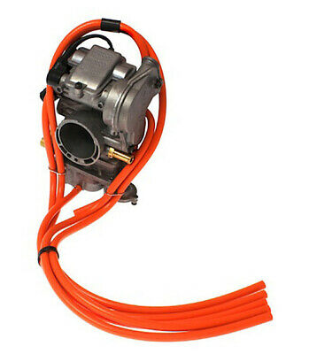 Orange Carby Vacuum Hose Samco