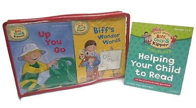 Oxford Reading Tree: Read with Biff, Chip and Kipper Set 33 x Books (Level 1-3)