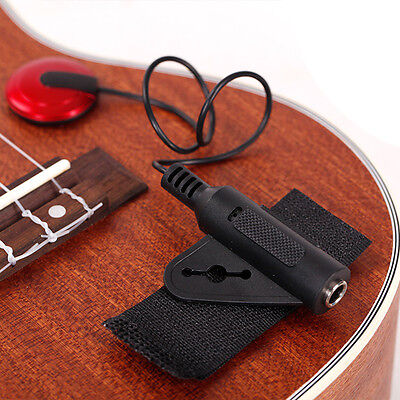 Guitar Pickup AD-20 Transducer & For Violin Cello Ukulele Musical Contact Sound