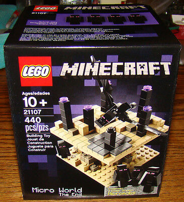 New LEGO Minecraft Micro World - The End 21107 - Factory Sealed!
