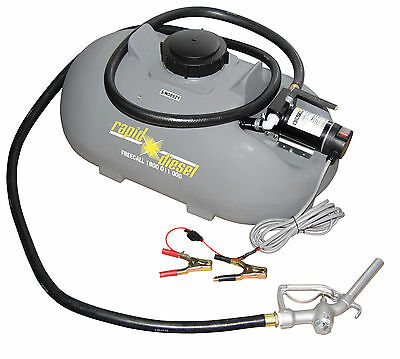 100 litre Rapid Spray Diesel Fuel Tank Ute Pack with 40lpm 12V Pump Kit