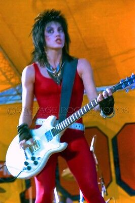 Joan Jett Photo 8x12 or 8x10 inch '80s Live Concert Pro Print from Negative 149