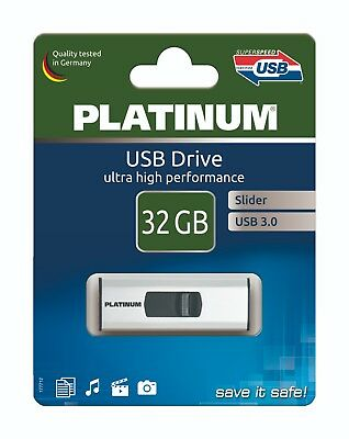 Platinum USB-Stick 32 GB USB 3.0 Slider 177712