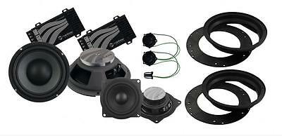 "Rainbow IQ Line 231238 VW Golf Mk5 Front Speaker Upgrade Pack 8"" 4"" Tweeter"