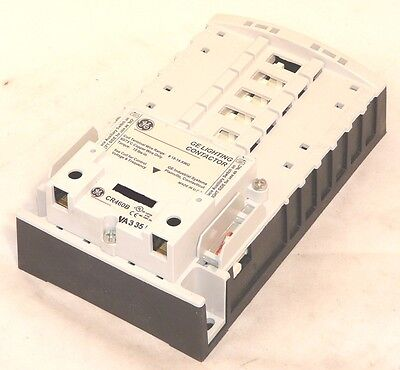 New General Electric CR460B Electrically Held Lighting Contactor Base With Coil