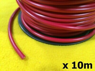 10m x 200 Amp Starter cable 3B&S Red 26 mm2 Electrical auto wire TYCAB