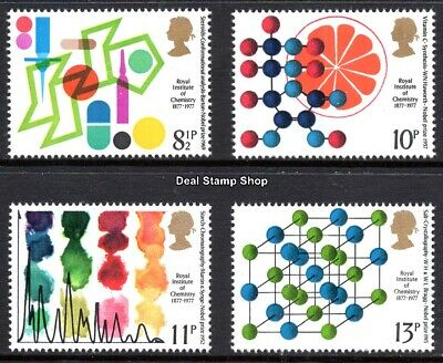 GB 1977 Royal Institute for Chemistry SG1029-32 Complete Set Unmounted Mint