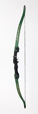 Family Green Recurve Bow Set / Longbow Kit- Green