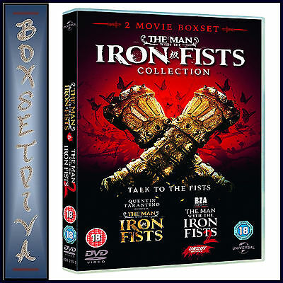 The Man With The Iron Fists 1 & 2 Collection  ** Brand New Dvd Boxset***