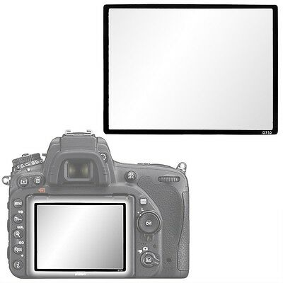 Pro Optical Glass LCD Hard screen protector guard for Nikon D750 DSLR Camera