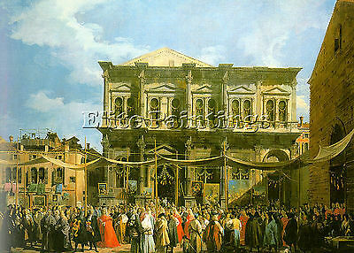 Canaletto3 Artist Painting Reproduction Handmade Oil Canvas Repro Wall Art Deco
